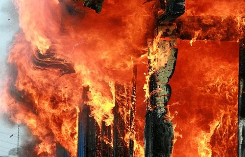 放火・延焼のリスク